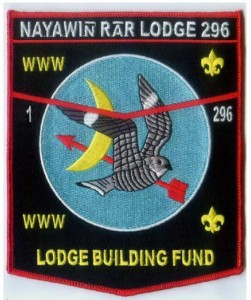 296 fundraiser patch