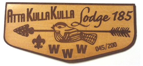 Atta Kulla Kulla Lodge 185 Leather Flap