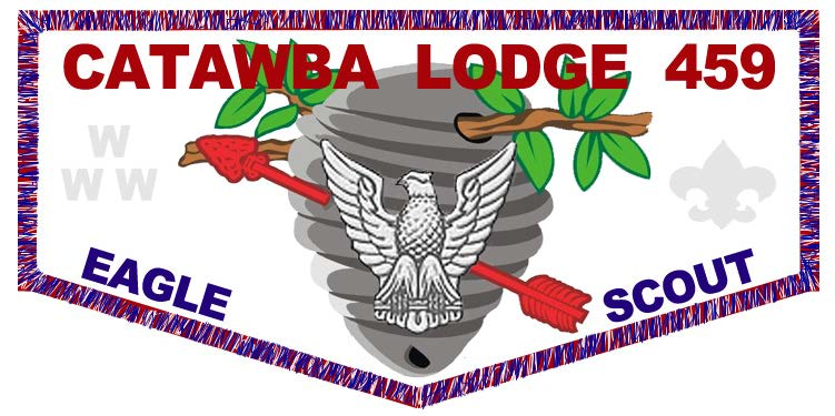 CATAWBA LODGE - EAGLE SCOUT - 2015 NOAC FUNDRAISER FLAP _ PRE-ORDER FORM