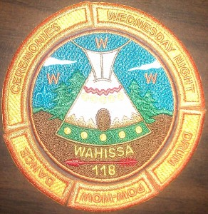 Wahissa Lodge Ceremonies Patch