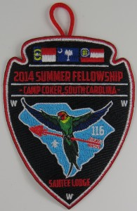 2014 Summer Fellowship Patch