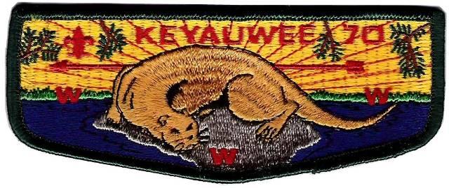 Keyauwee Lodge 70 Lodge S1 First Flap