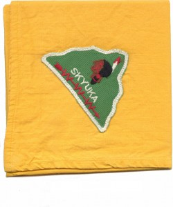 Skyuka Lodge 1950s Vigil Neckerchief
