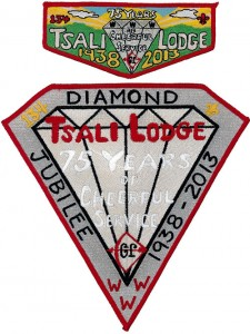 Tsali Lodge 75th Anniversary Issues
