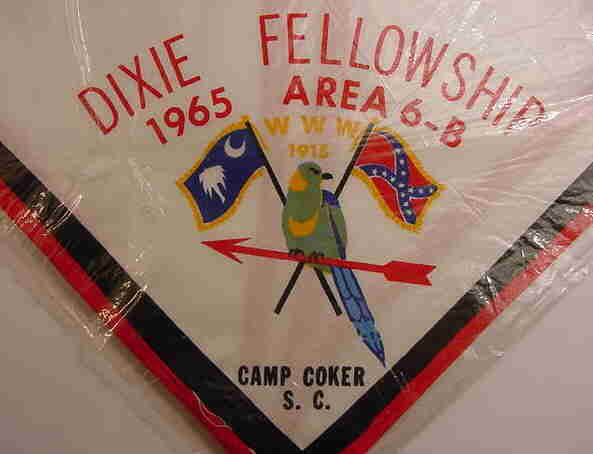 1965 Dixie Fellowship Neckerchief